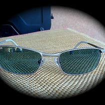 Fossil Women's Blue Gray Sunglasses Very Fine Condition Photo