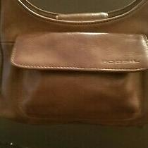 Fossil Womens Brown Leather Crossbody Shoulder Bag Purse Photo