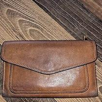 Fossil Women's Emory Bifold Soft Leather Wallet Espresso Brown Coin Pocket Photo
