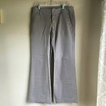 Fossil Women's Grey Wide Leg Pants Size 10 Photo