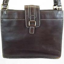 Fossil Women's Handbag Brown Shoulder Bag Leather Purse Photo