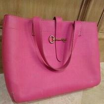Fossil Women's Leather Handbag Pink 16