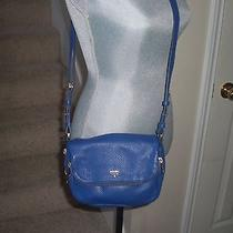 Fossil Women's Preston Small Flap Bag Blue Photo