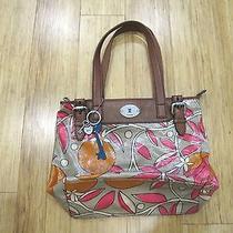 Fossil Women's Shoulder Medium Handbag Key Per Collection Floral Pattern Photo