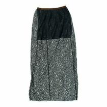 Fossil Women's Stylish Skirt Size Xs  Blue/navy  Nylon Polyester Photo