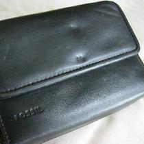 Fossil Women's Tri-Fold Black Wallet 5