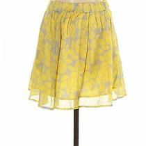 Fossil Women Yellow Casual Skirt Xs Photo