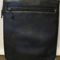 Fossil Womens Black Leather Messenger Handbag Amazing. Wow  Awesome Photo
