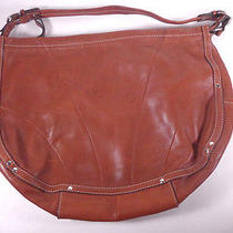 Fossil Womens Leather Brown Shoulder Bag/purse  Photo