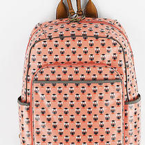 Fossil Womens Pink Owl Keeper Backpack School Book Bag Purse Ret 108 New Photo
