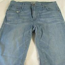 Fossil Womens Size 30 Jeans Flare Flair Cut Stretch Denim Jeans 31 Inseam Photo