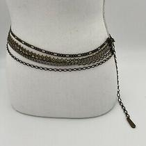 Fossil Womens Small Multi-Metal Adjustable Chain Belt Photo