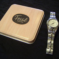 Fossil Womens Stainless Steel Watch Photo