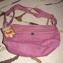Fossil World Traveler Purple Shoulder Bag W/ Hang Tag  Photo