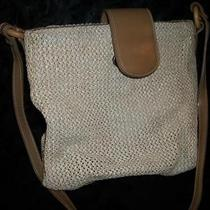 Fossil Woven Beige Purse  Photo