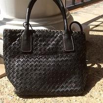 Fossil Woven Leather Bag Photo