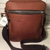 Fossil Wright City Bag Cognac Leather Nwt Retail 198 Photo