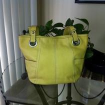 Fossil Yellow Leather Hathaway Shoulder Bag Photo