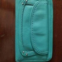 Fossil Zip Around Women's Leather Clutch - Brown Photo