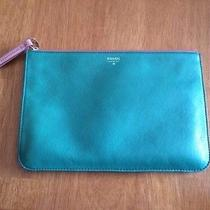 Fossil Zipper Clutch Green Photo