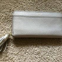 Fossil Zipper Wallet Grey Photo