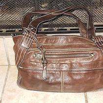 Fossilbrown Leather Shoulder Purse Photo