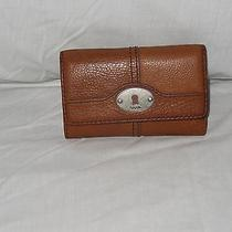 Fossilbrown Leather Wallet Photo
