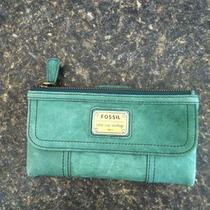 Fossill Emory Clutch Aqua Photo