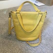 Fossill Small Yellow  Crossbody Purse Photo