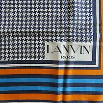 Foulard Retro Lanvin / Lanvin Vintage Scarf Photo