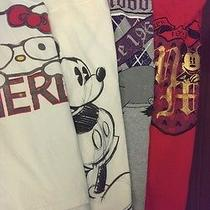 Four Super Cute Women T-Shirt Mickey Mouse and Hello Kitty  Photo