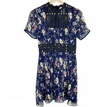 Foxiedox Women's Anthropologie Juniper Bib Floral Dress Size Xs Photo