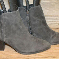 Franco Sarto Appeal Womens Black Leather Zip Up Ankle Bootie/boots Sz 8 M Photo