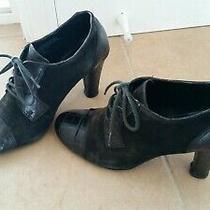 Franco Sarto Black Ankle Booties Photo