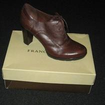 Franco Sarto Bolt Womens Leather Booties Shoes Photo