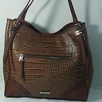 Franco Sarto Brown Leather Purse Tote  Photo