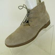 Franco Sarto Brown Suede Laces Ankle Fashion Boots Bootie Size 8 M Photo
