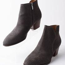 Franco Sarto Garvey Womens Charcoal Gray Ankle Booties Boots Size 8 Eu 38 Photo