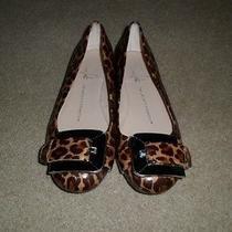 Franco Sarto Jackson Leopard Print Ballet Flats in Size 5.5-Euc Rare Photo