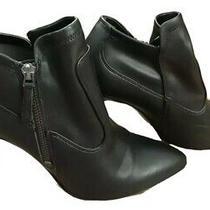 Franco Sarto Kaye Black Heel Bootie Women's Size 8 Photo