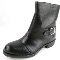 Franco Sarto Pendant Black Ankle Boot Wmns Sz 7.5 M New Retail 119 Photo