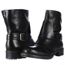 Franco Sarto Pendant Motorcycle Ankle Boots Black 7.5 M Us - Display Photo