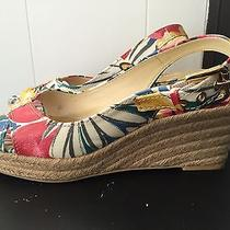 Franco Sarto Slingbacks Bright Color Multi Size 9 Photo