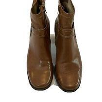 Franco Sarto Tan Camel Booties Size 8.5 Heels Photo