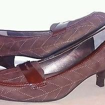 Franco Sarto  Woman's Sz. 7.5 M Brown Leather Pumps Ms-B2 Photo