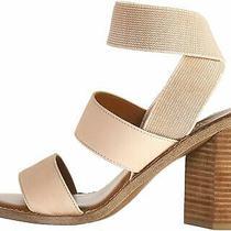 Franco Sarto Women's Dear Heeled Sandal Blush Size 9.0 Qvi4 Photo