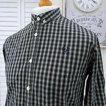 Fred Perry Campbell Tartan Button-Down Shirt - M - Ska Mod Scooter Casuals Skins Photo