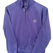 Fred Perry Twin Tape High Shine Track Jacket Blue Size L Excellent Condition Photo