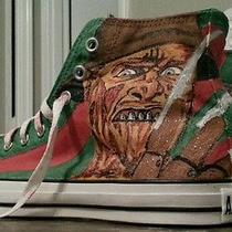 Freddy Krueger Shoes Converse Allstar Custom Painted Photo