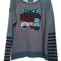 Free City // Bike Friend Pullover Sweatshirt // Unisex // a Steal at 125 Photo